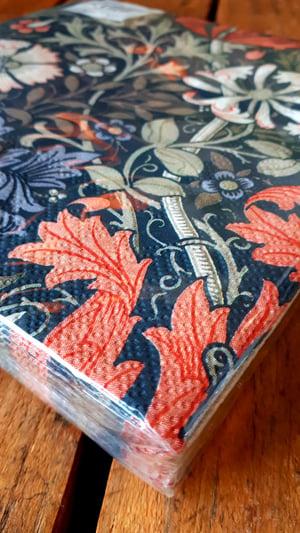 Image of William Morris Serviettes - Compton