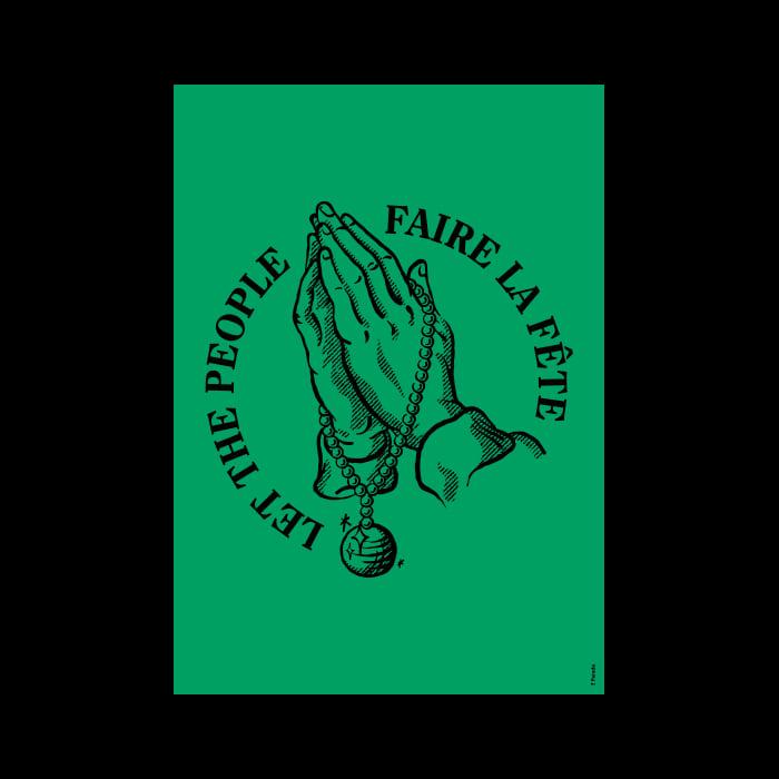 Image of Let the people faire la fête • Vert