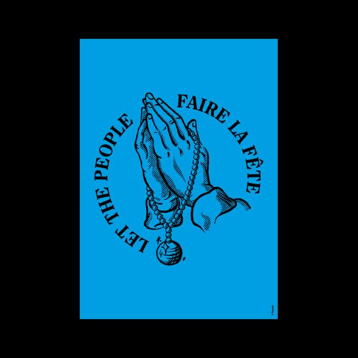 Image of Let the people faire la fête • Bleu