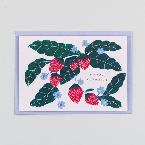 Image of Happy Birthday Strawberry