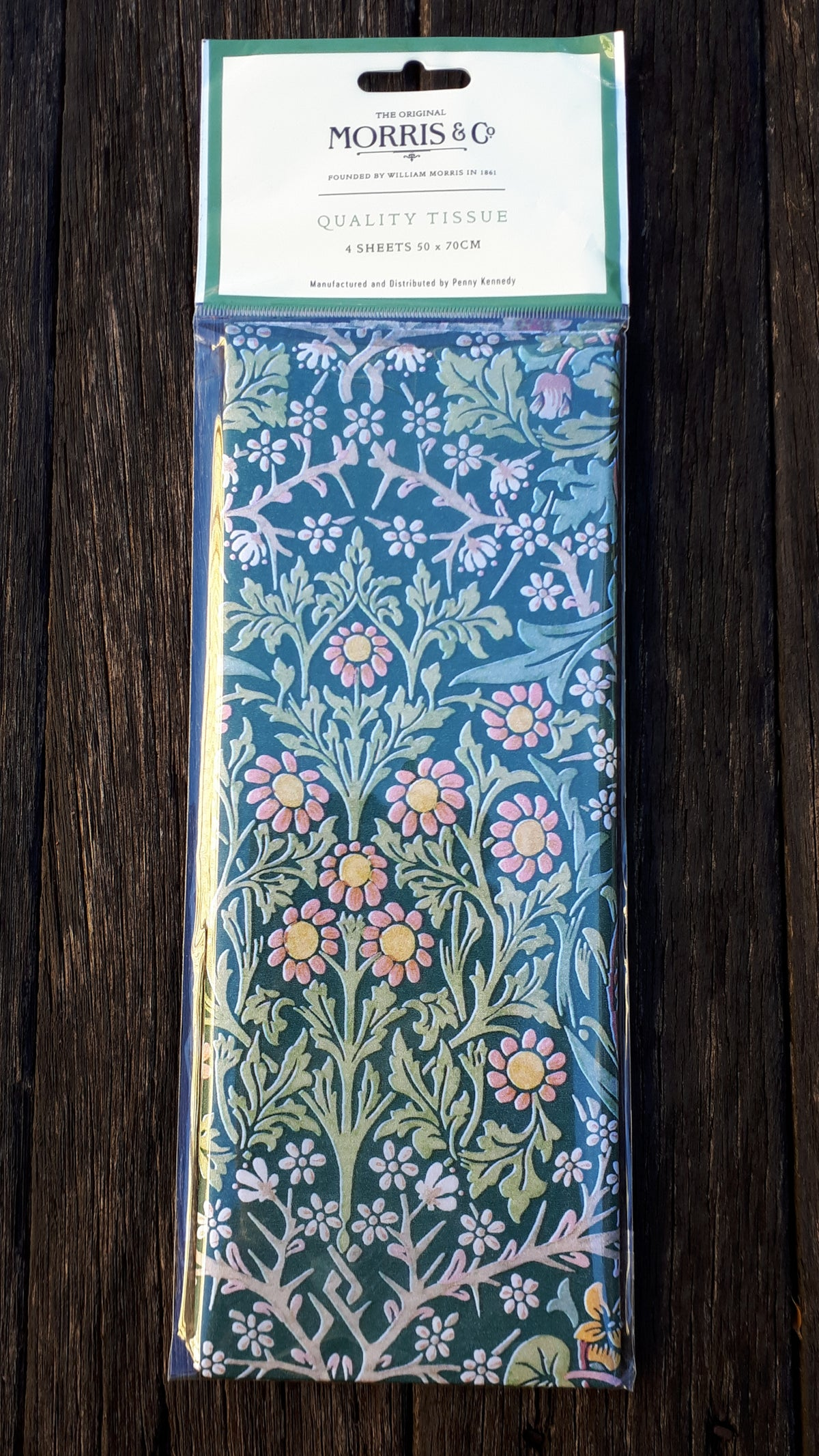 Image of William Morris Tissue Paper