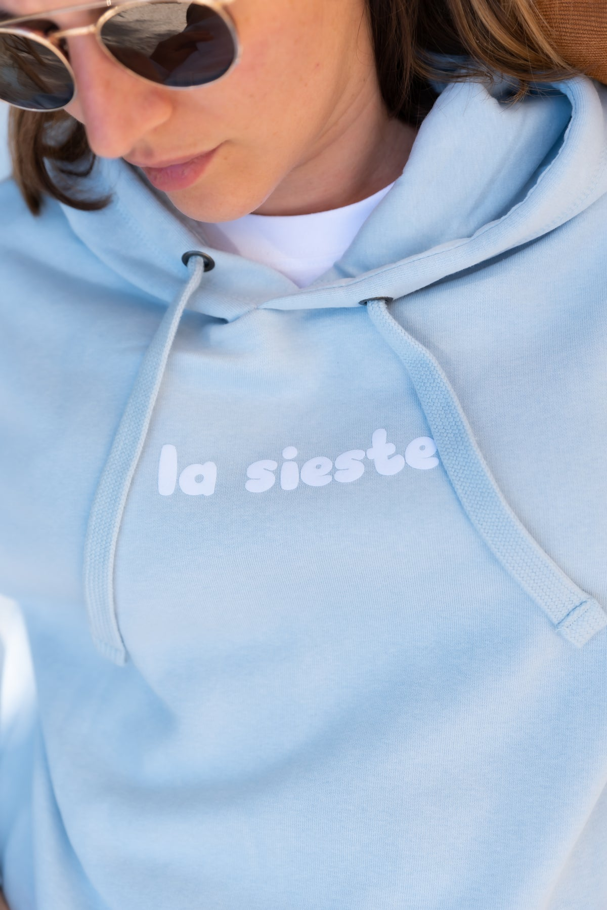 Image of Sweat La Sieste Bleu ciel