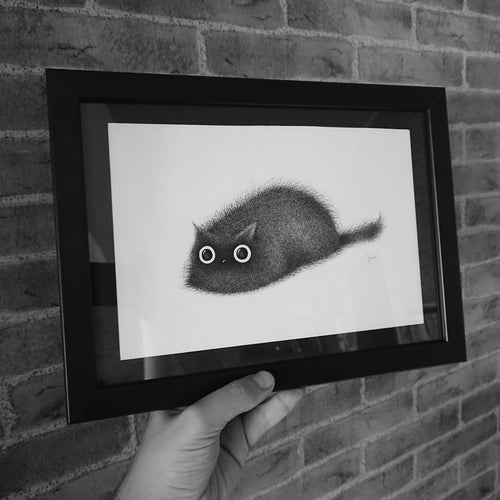 Image of Mr. Grumble Snickle Fritz gicleé print