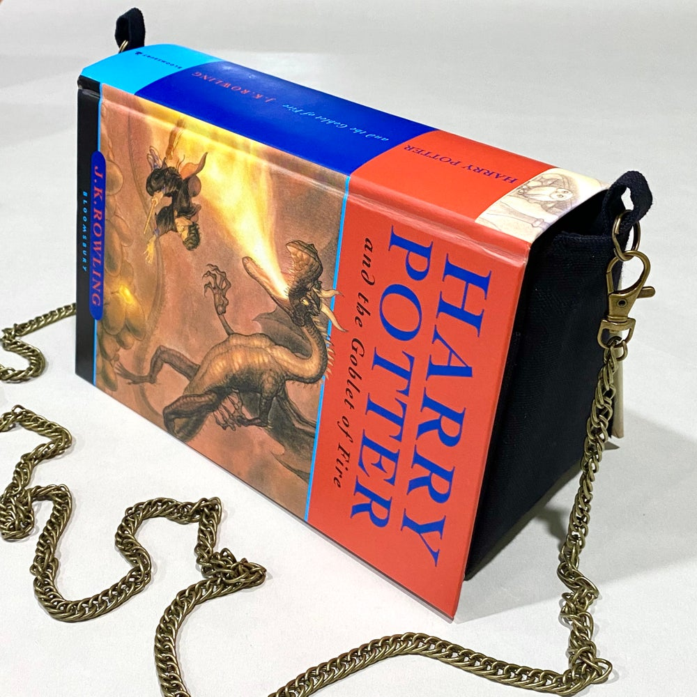 Image of Goblet of Fire Book Purse, Harry Potter