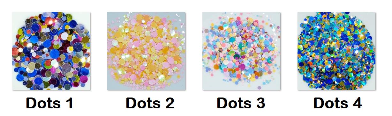 Sequin Dot Mixes - 5g