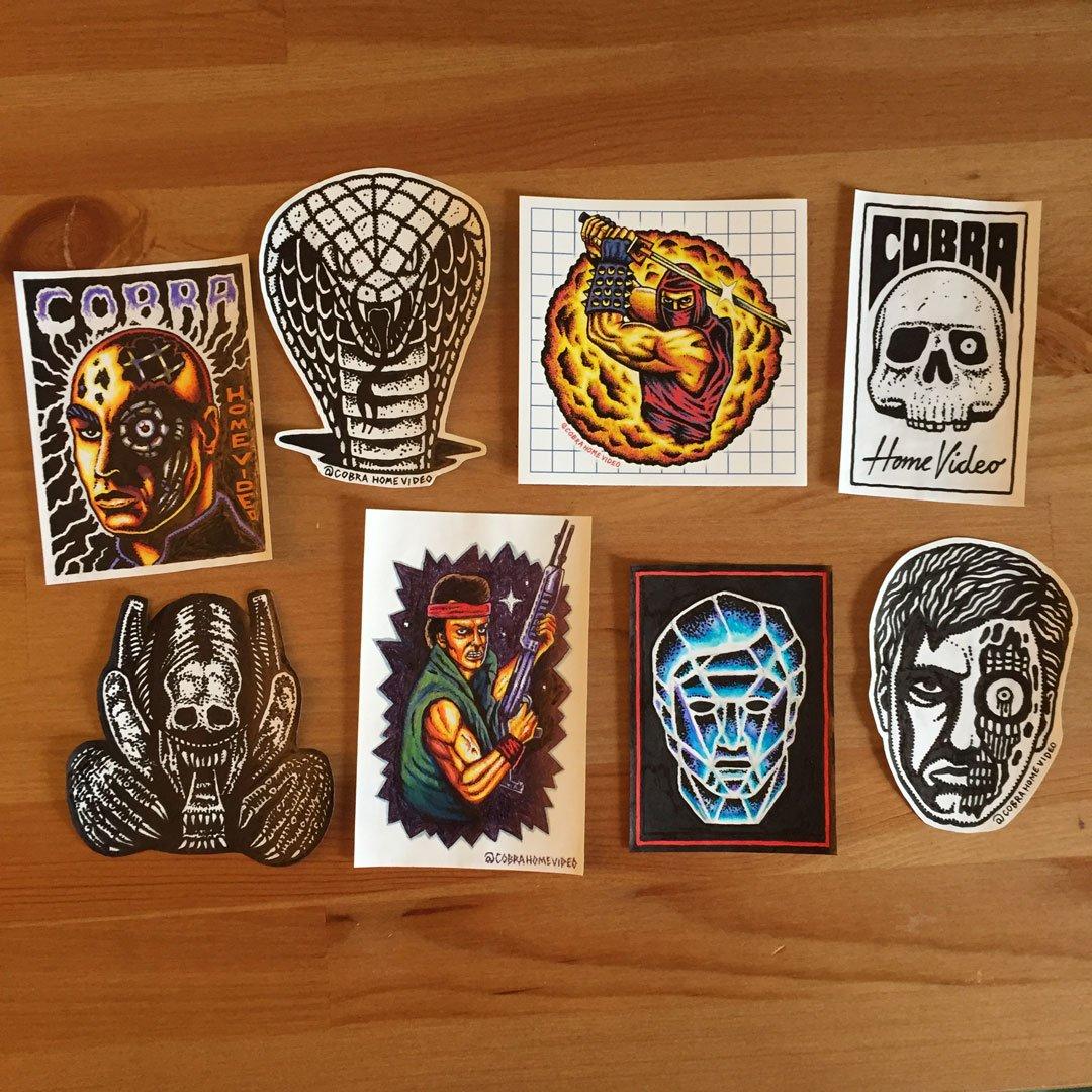 Image of Handmade Sticker Pack #1