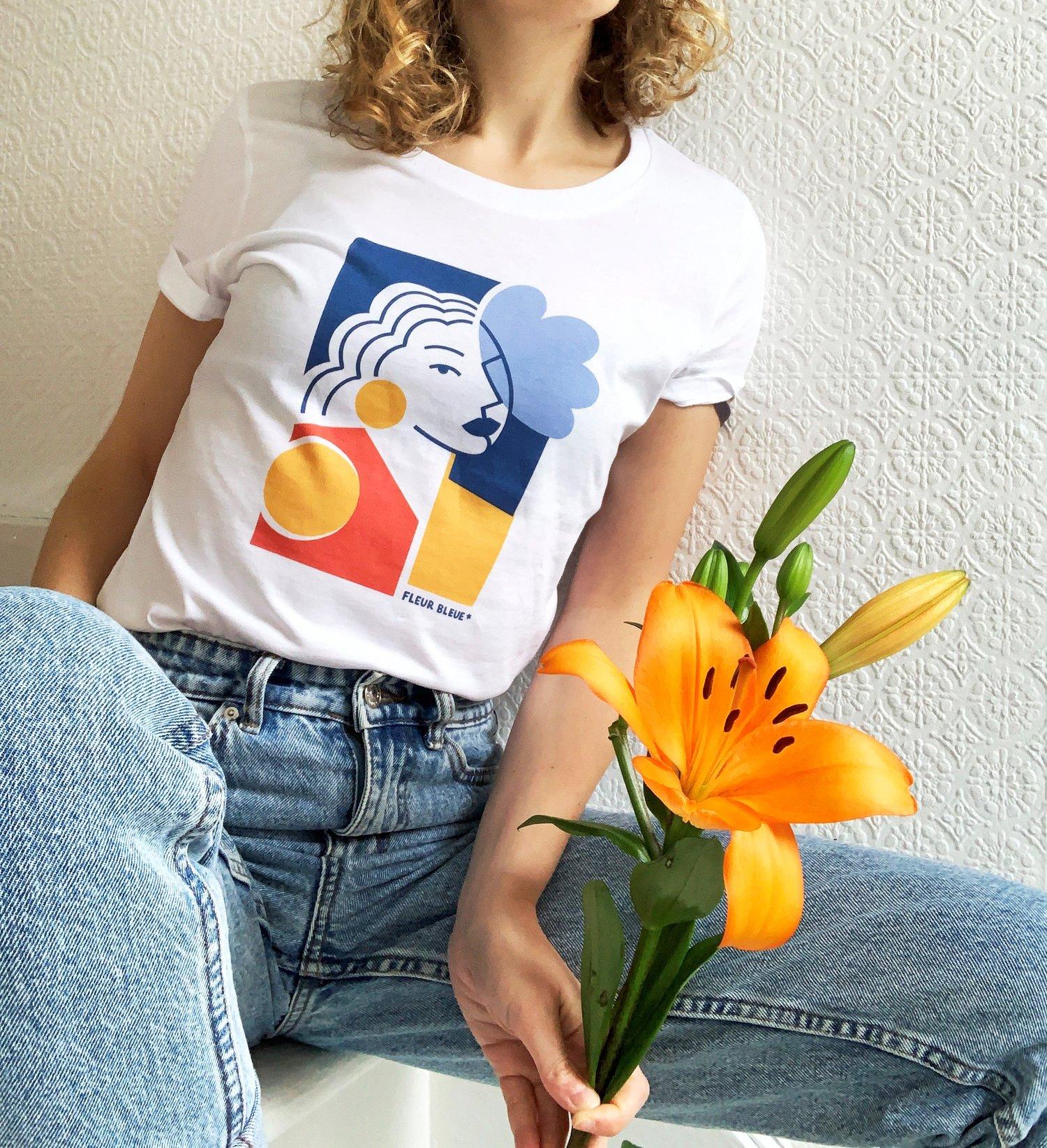 Image of The Simones x Claire Prouvost - Fleur bleue