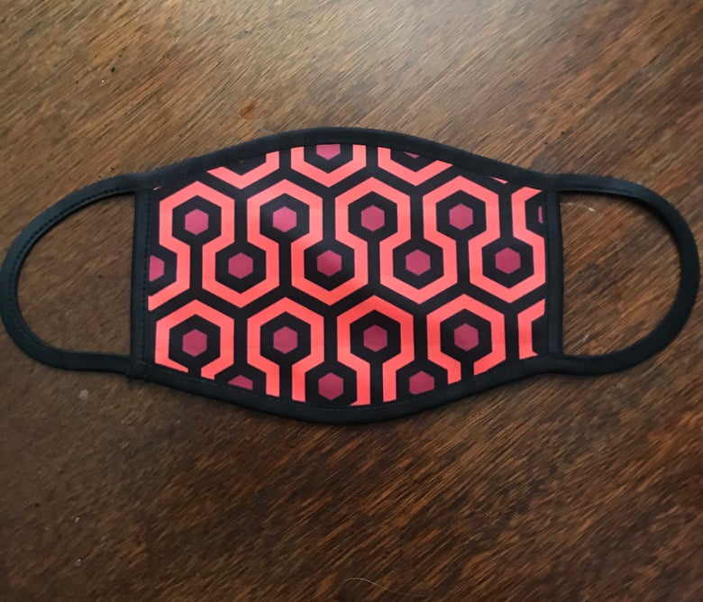 Image of Overlook Hotel Face Mask