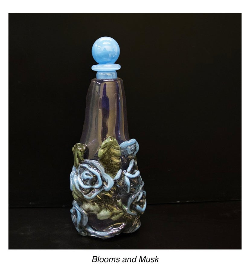 Image of Blooms and musk vase