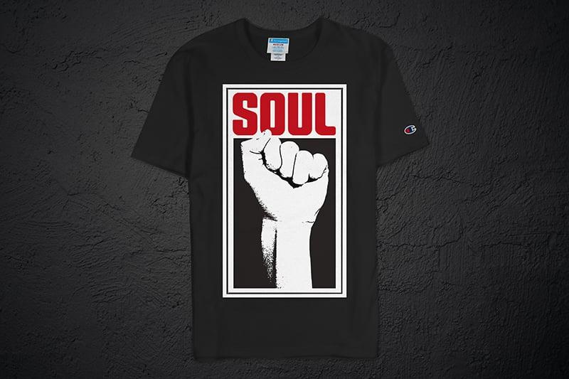 Image of Soul Power Fist Champion Tee (Black)