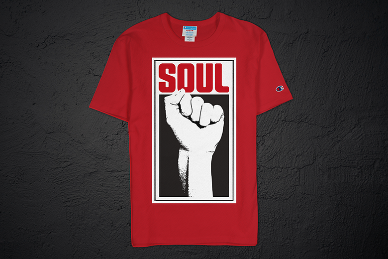 Image of Soul Power Fist Champion Tee (Red)