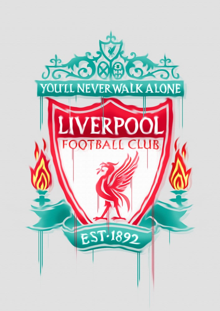 Image of Liverpool Crest (Signed Print)