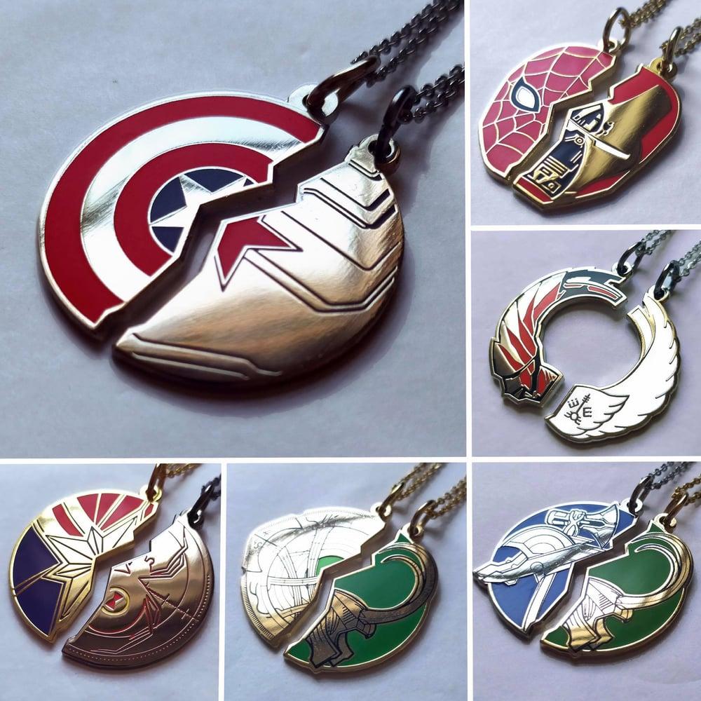 Image of Superhero Mix 'N' Match Necklace Sets JANUARY SALE