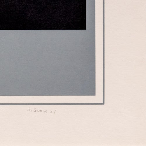 Image of Jean Gorin,  geometric composition III, 1976