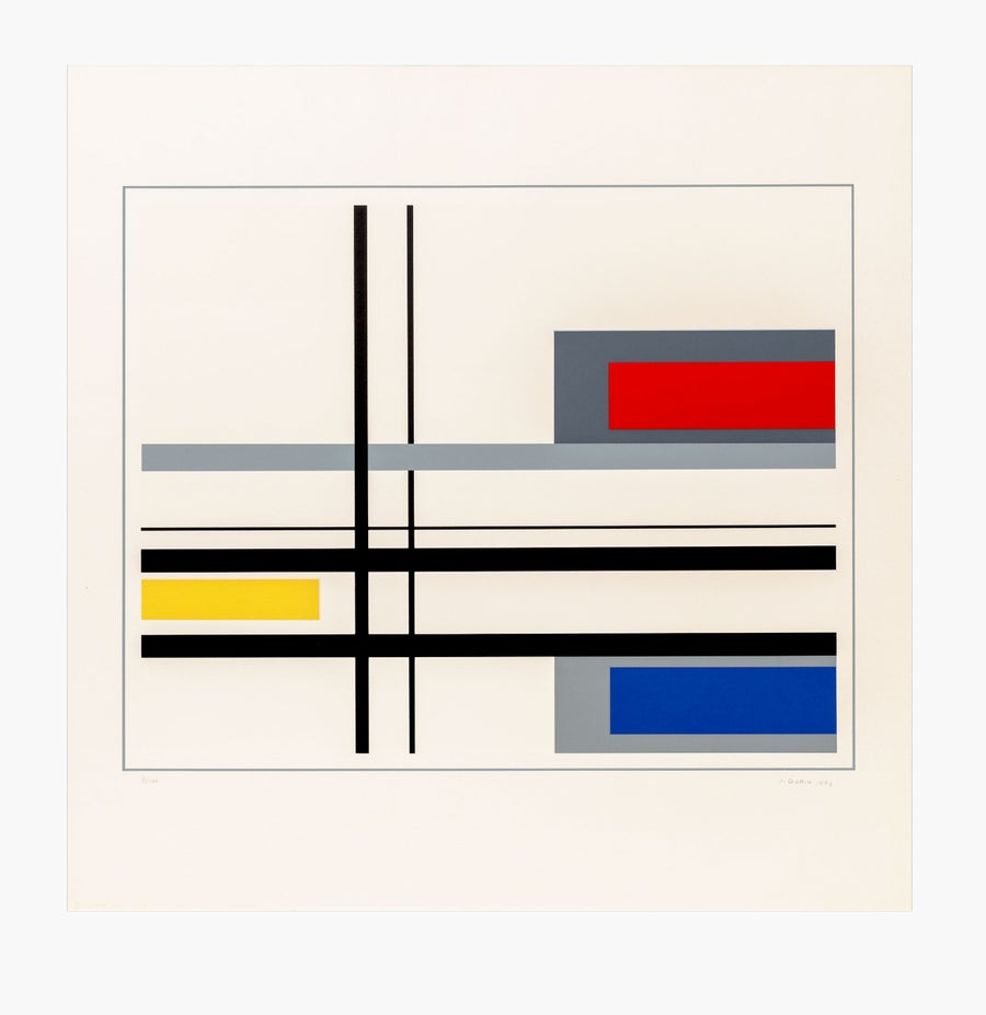 Image of Jean Gorin, geometric composition II, 1976