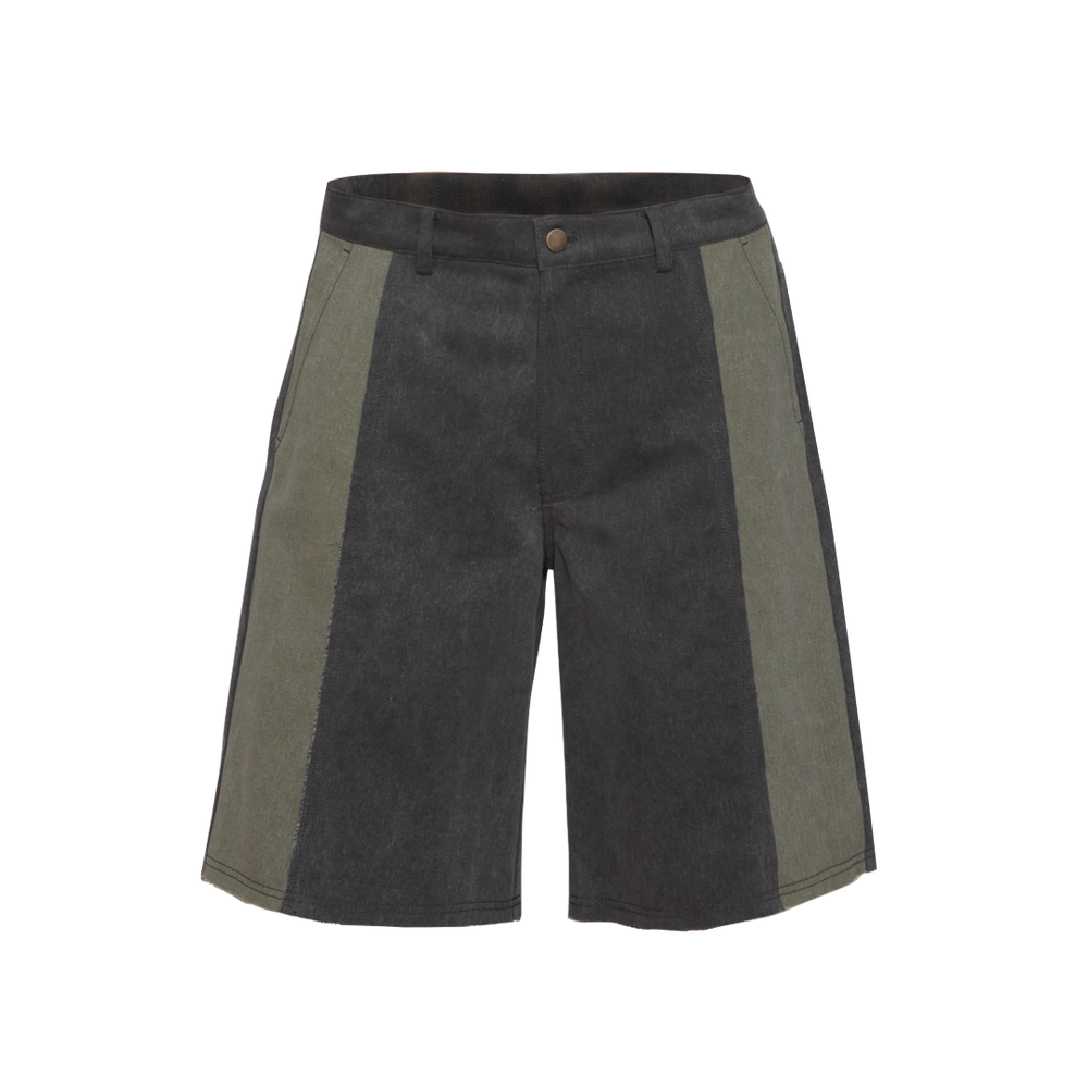 Image of DENIM RAW EDGE SHORTS