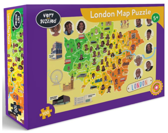 Image of London Map Puzzle