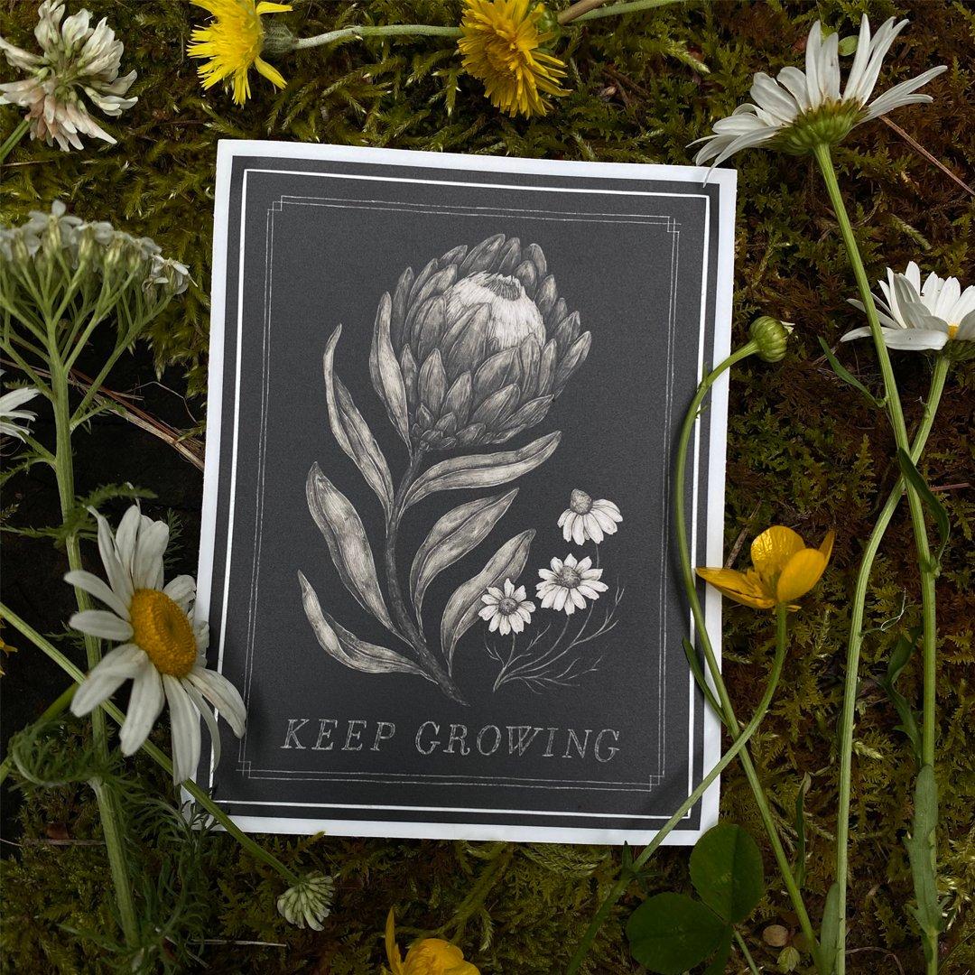 Image of Keep Growing Sticker