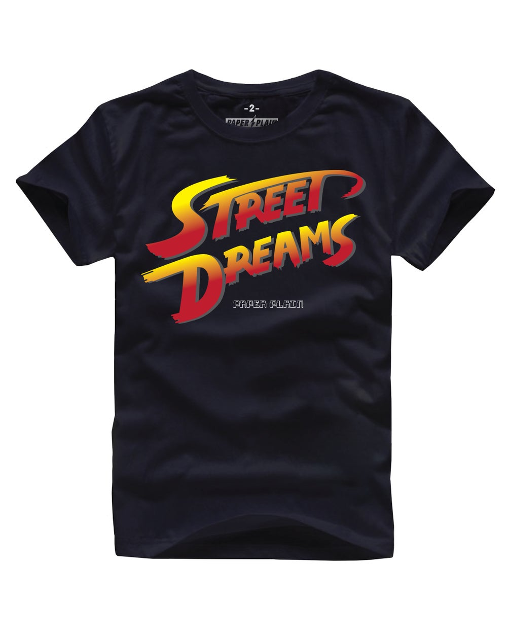 STREET DREAMS TEE BLACK