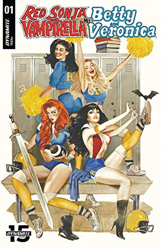 Image of RED SONJA & VAMPIRELLA MEETS BETTY & VERONICA *SIGNED* The Complete Run