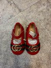 Red Tropical Shoes