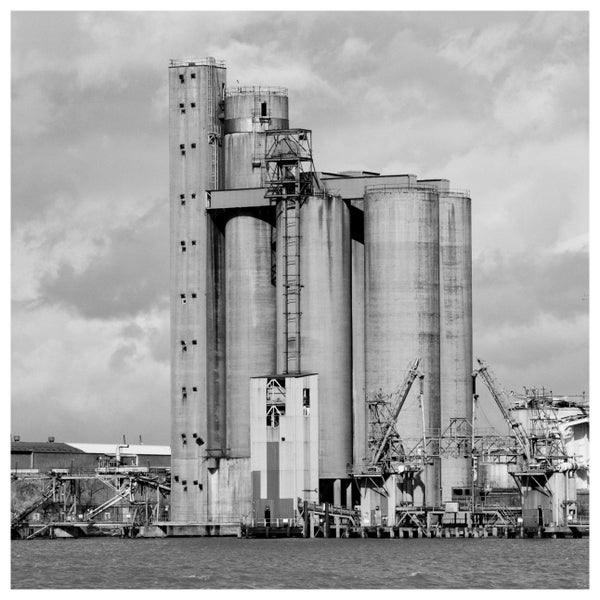 Image of Tunnel Refineries, Greenwich - Black and White Print