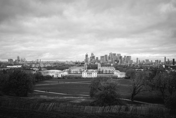 Image of Greenwich Park, Winter - Black and White Print
