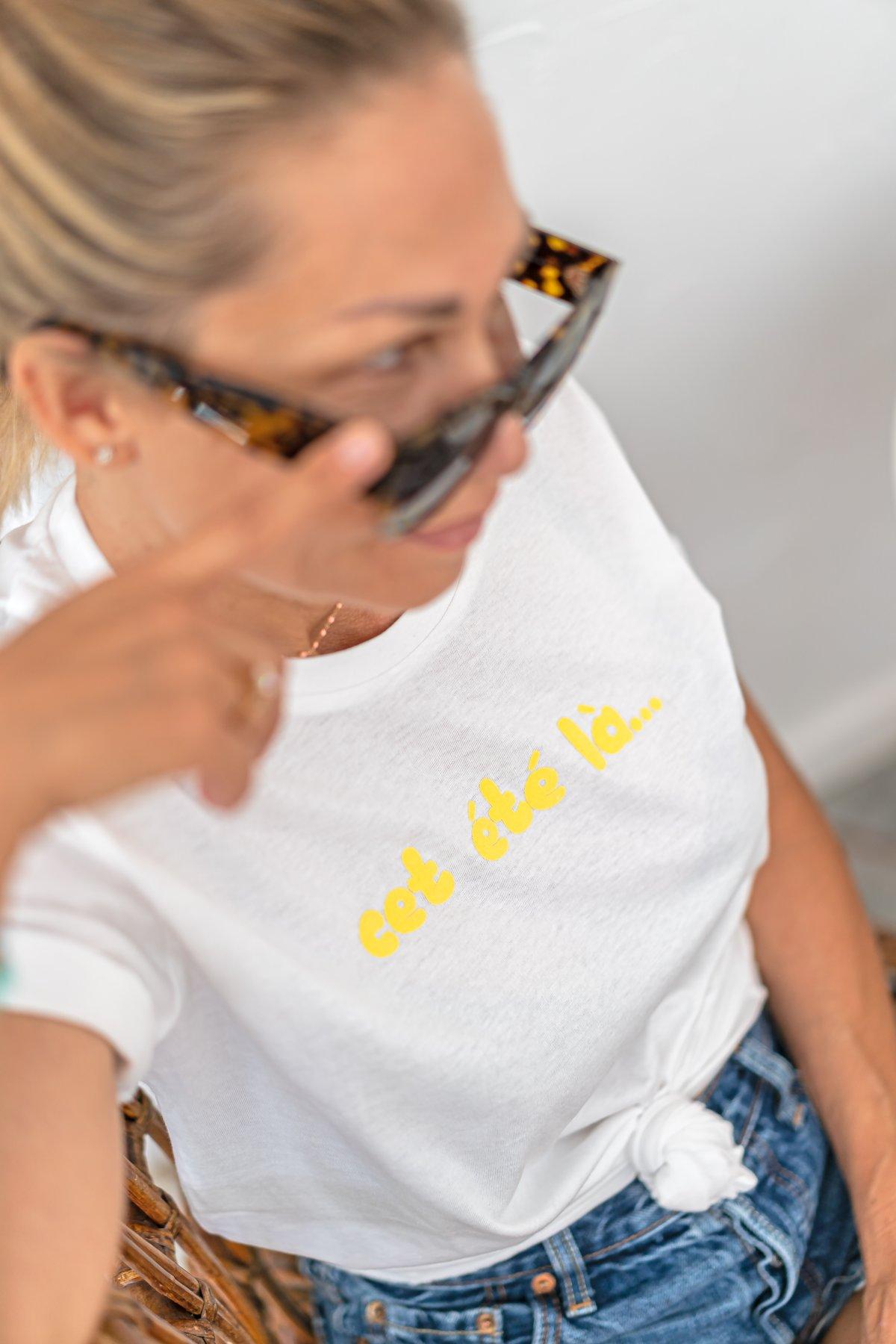 Image of Tee-shirt cet été là...