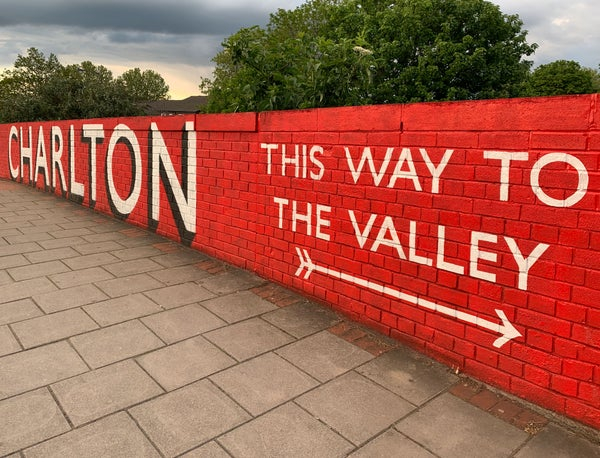 Image of Charlton - This Way To The Valley - Colour Print