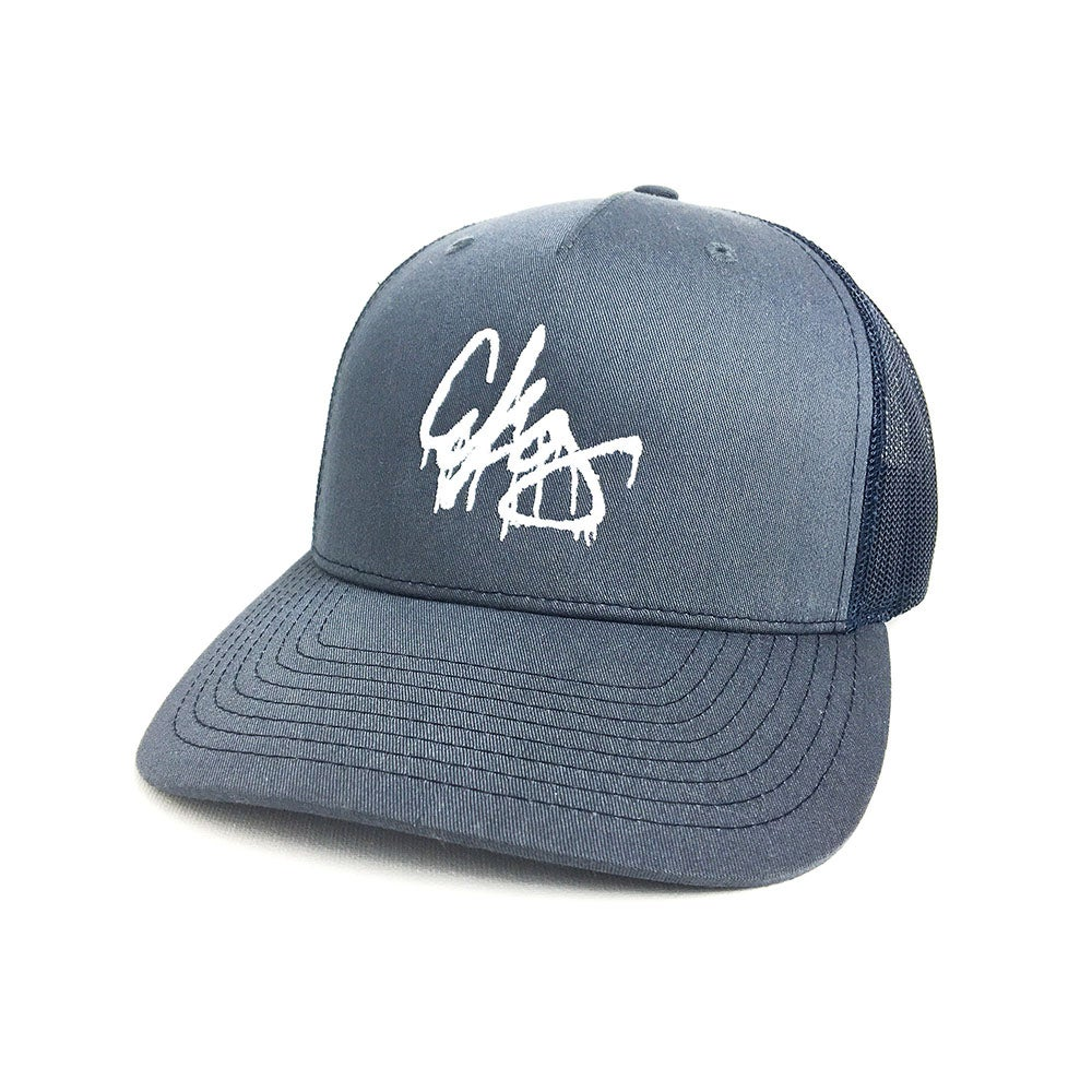 Image of AKG Tag - Navy Snapback