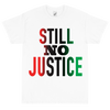 No Justice White T shirt