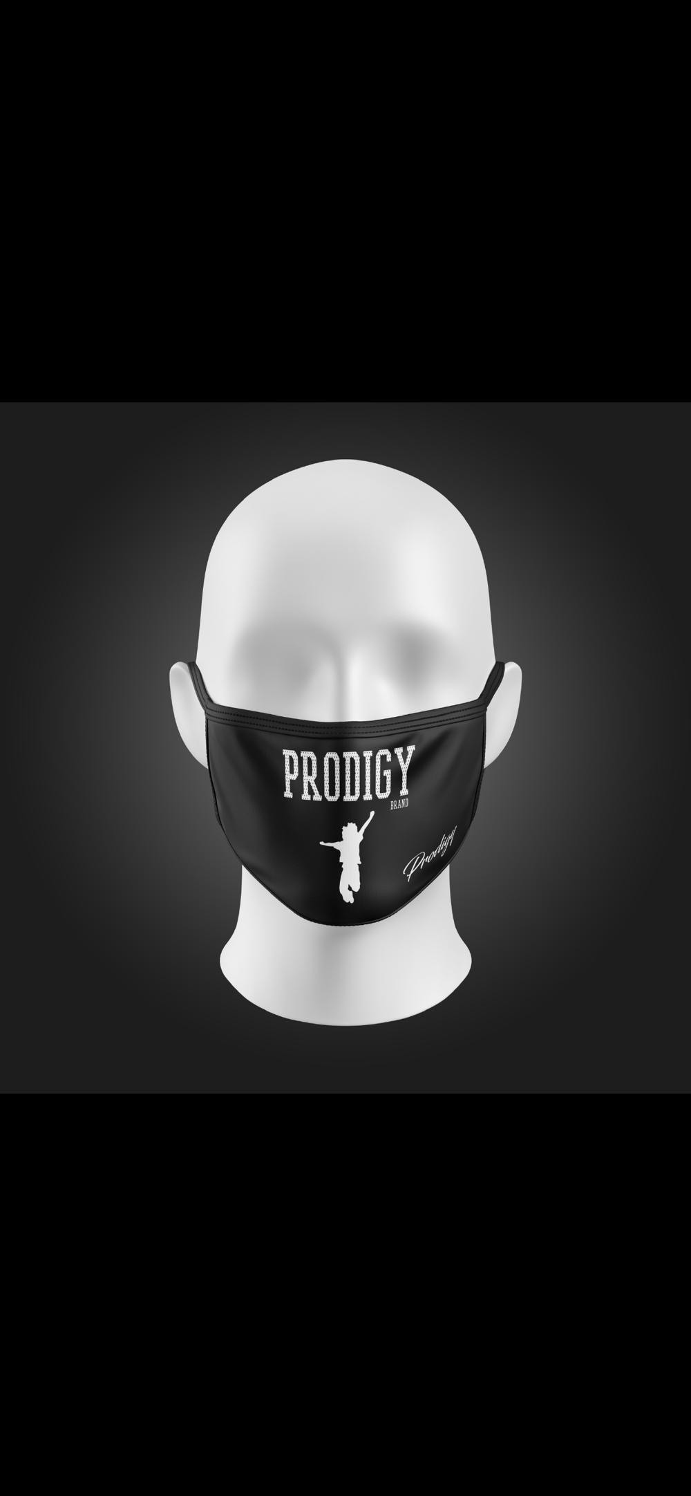 BRAND PRODIGY BLACK FACE MASK