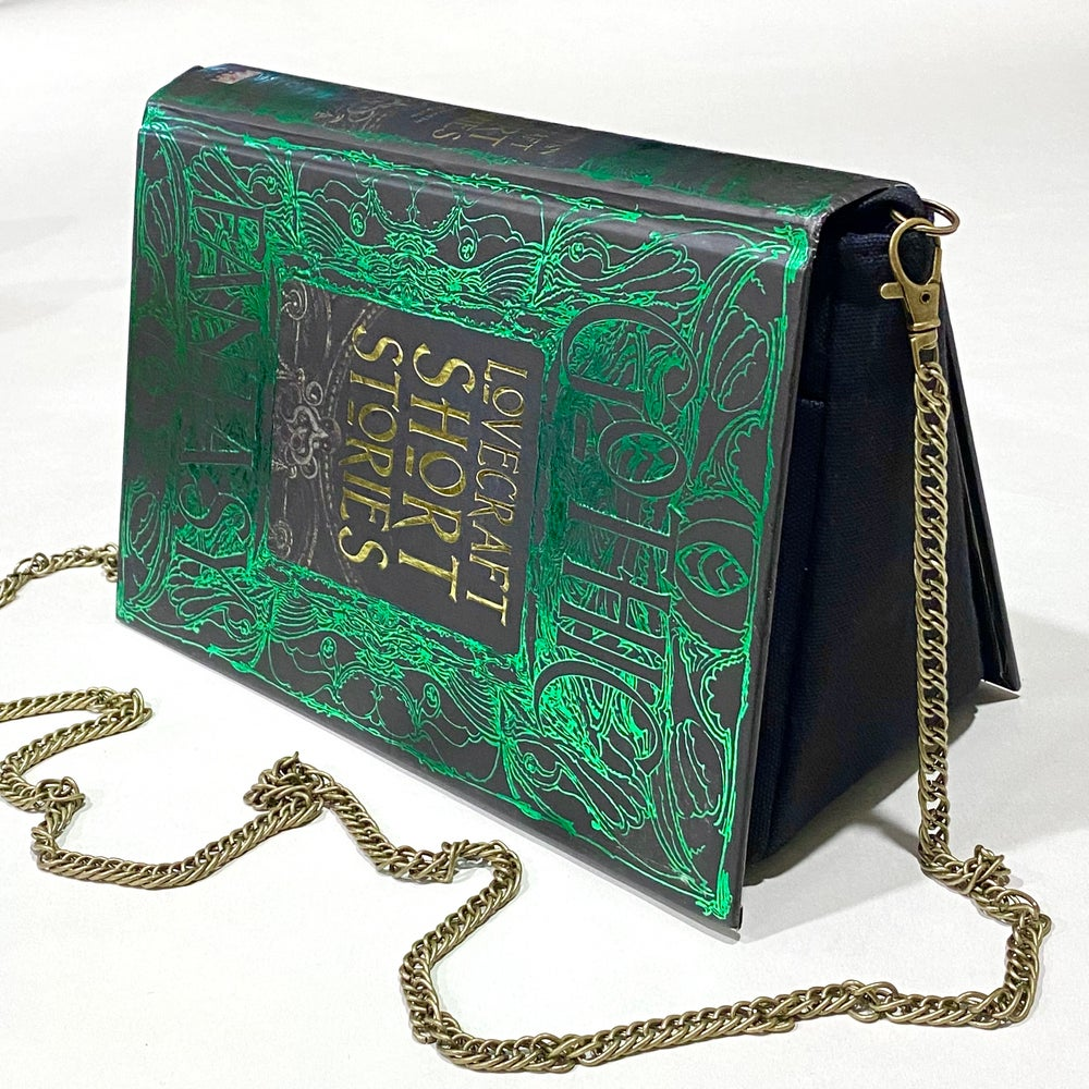 Image of Gothic Fantasy Short Stories, H.P. Lovecraft Book Purse