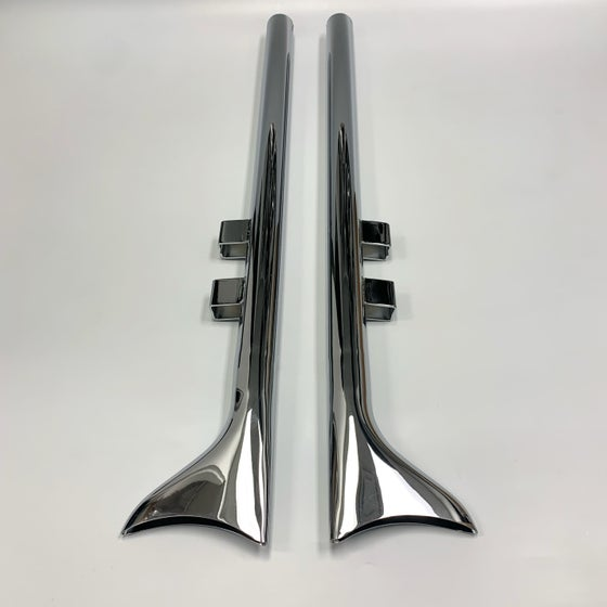 """Image of Fishtail Extensions (for 1-3/4"""" header pipes)"""