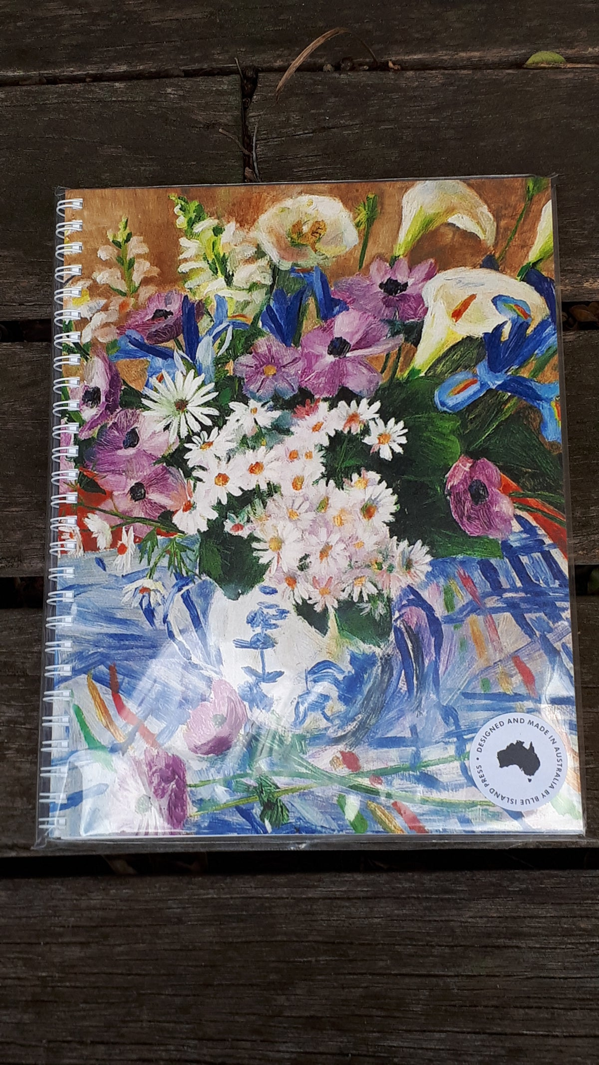 Image of Margaret Olley Large Note Book - Vase of Flowers
