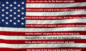 Image of Star Spangled Banner - Violin Duet