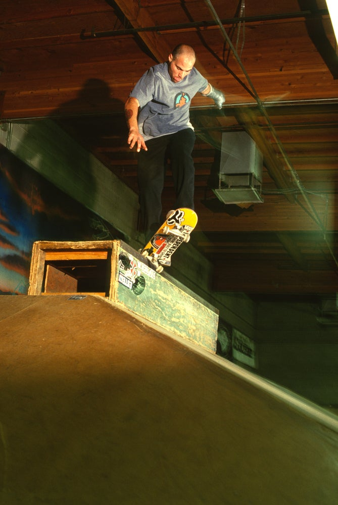 Salman Agah, fakie k grind, Sugar Hill Skatepark, central California by Tobin Yelland