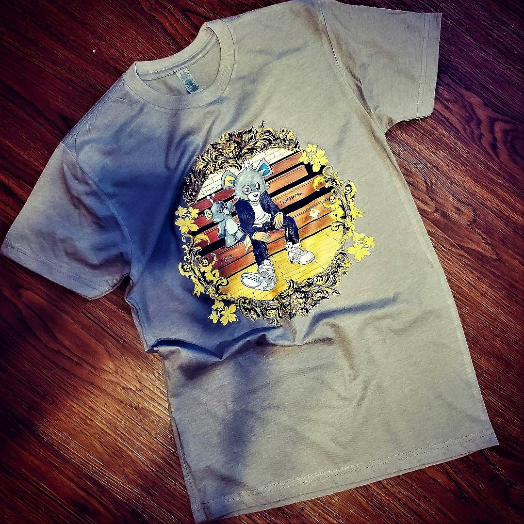 Image of Inzzo's Shed College Dropout Tee (Stone)
