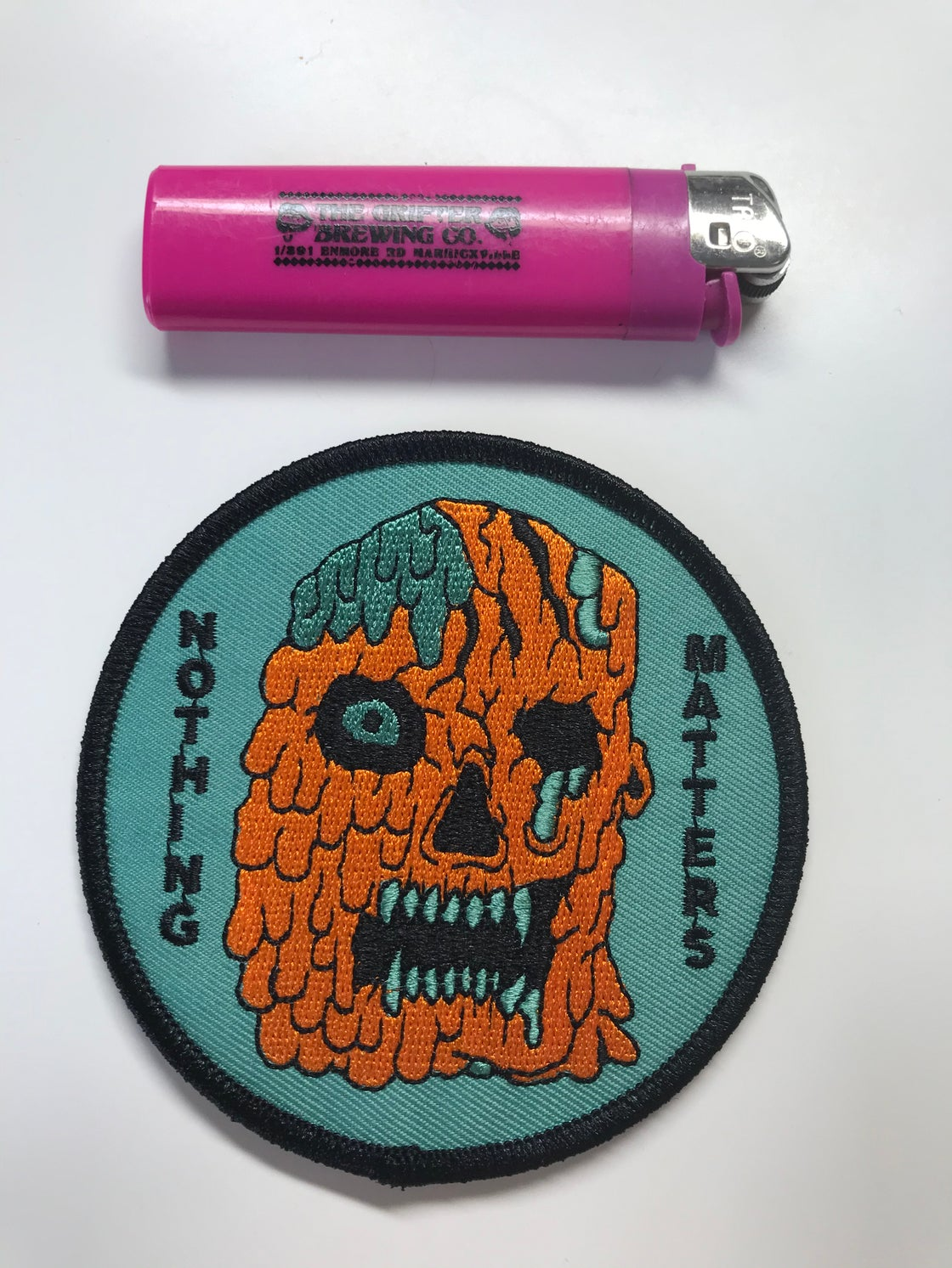 Image of NOTHING MATTERS Embroidered Patch