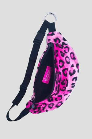 Image of panther fanny pack