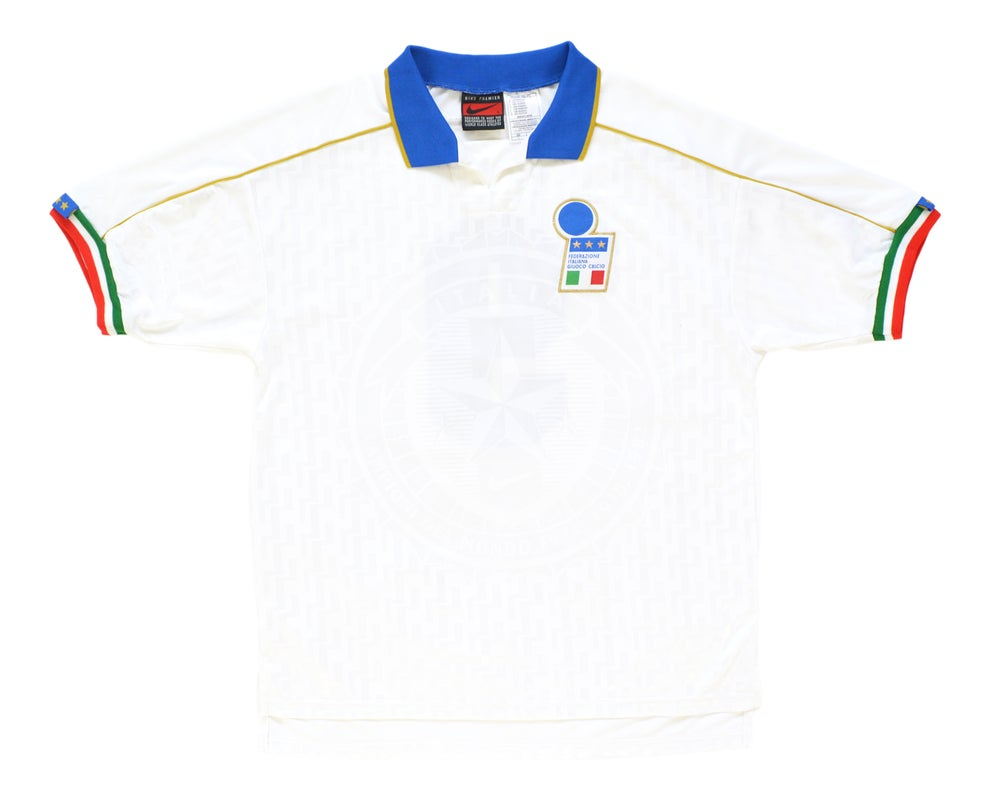Image of 1994-96 Nike Italy Player Issue Away Shirt '9' L