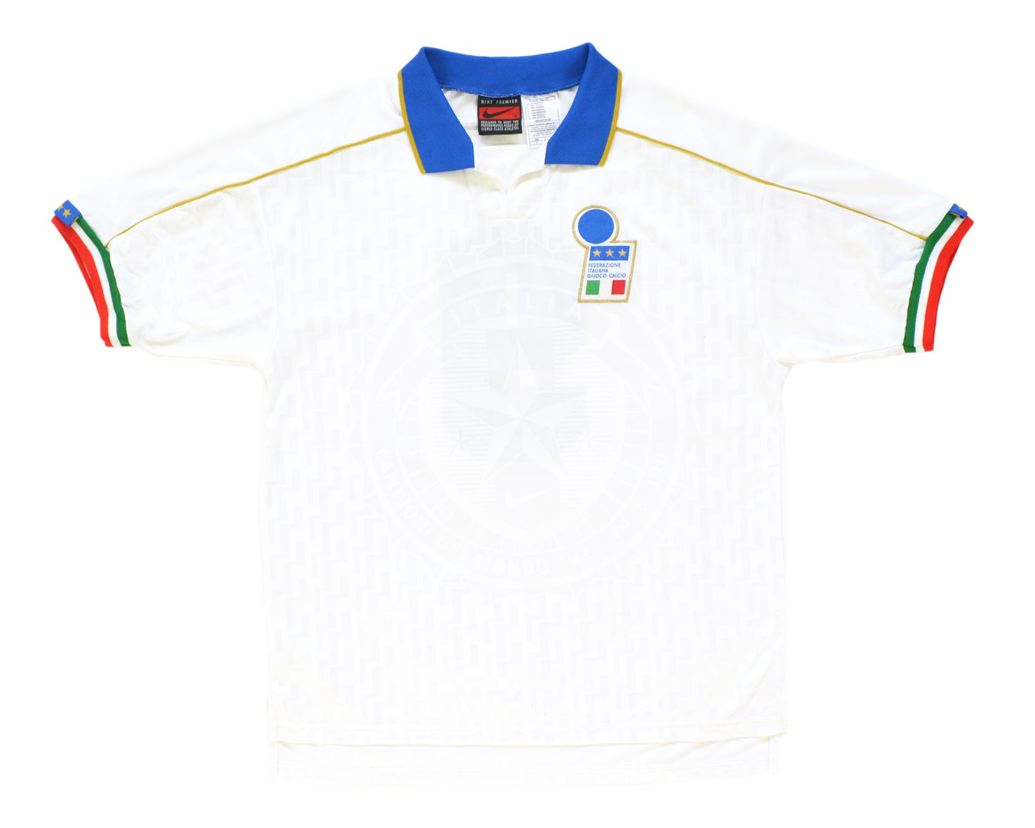 Image of 1994-96 Nike Italy Match Issue Away Shirt '9' L