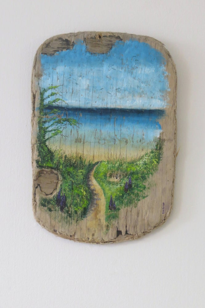 Image of 'Vintage' Coastal Path Driftwood