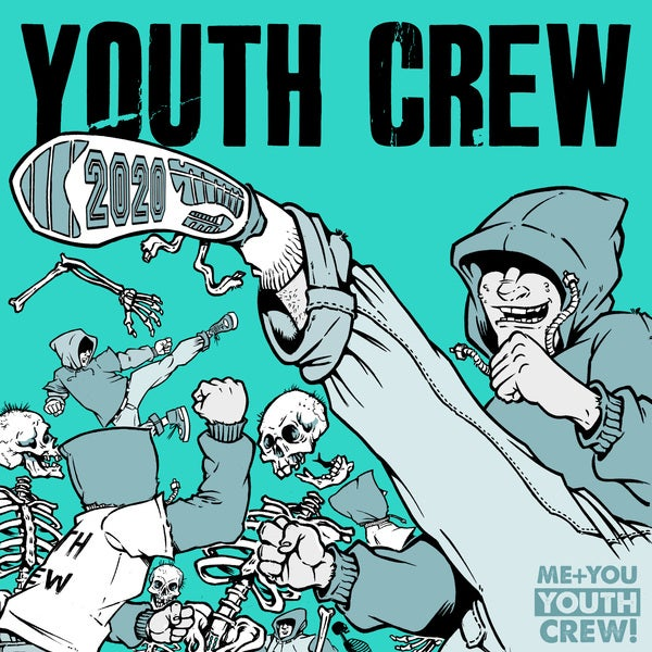 Image of Youth crew mega bundle every colourway  and test press  7 records all in