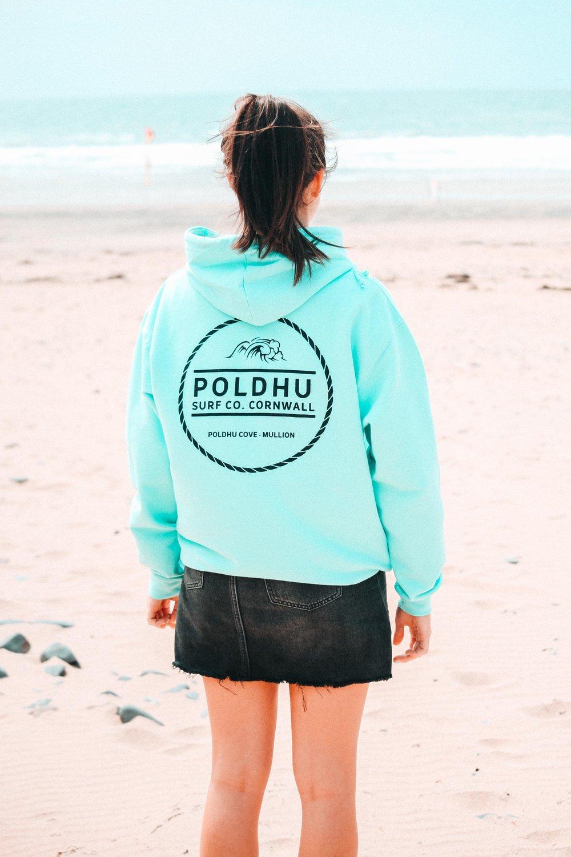 Poldhu Surf Co. Hoodie - MINT