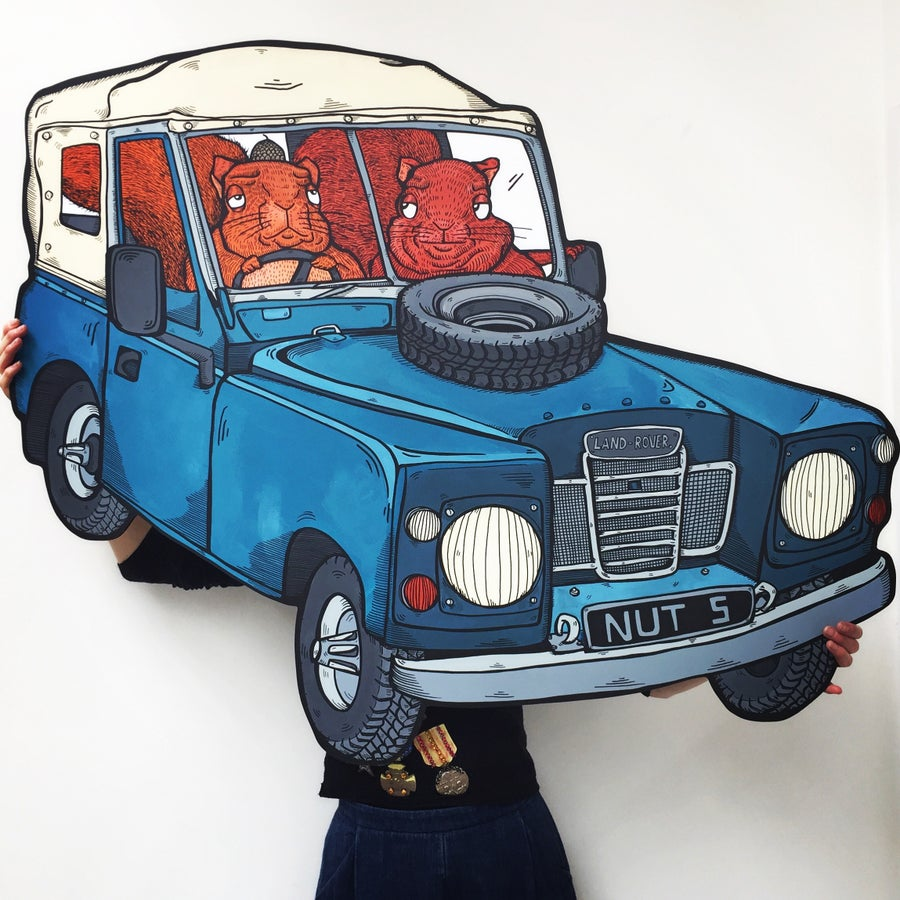 Image of 'Driven Nuts' From Original 'Cars' Series