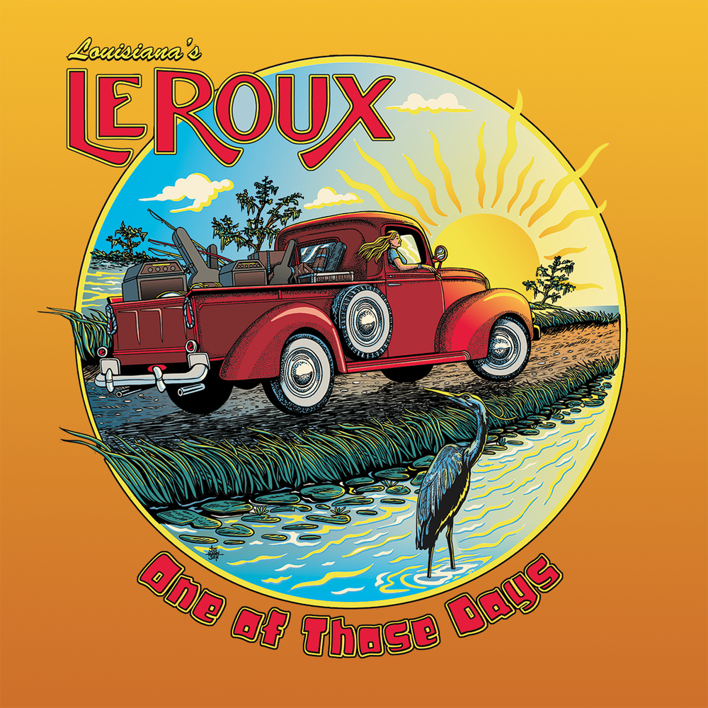 """Image of LeRoux's - """"One of Those Days"""" CD"""