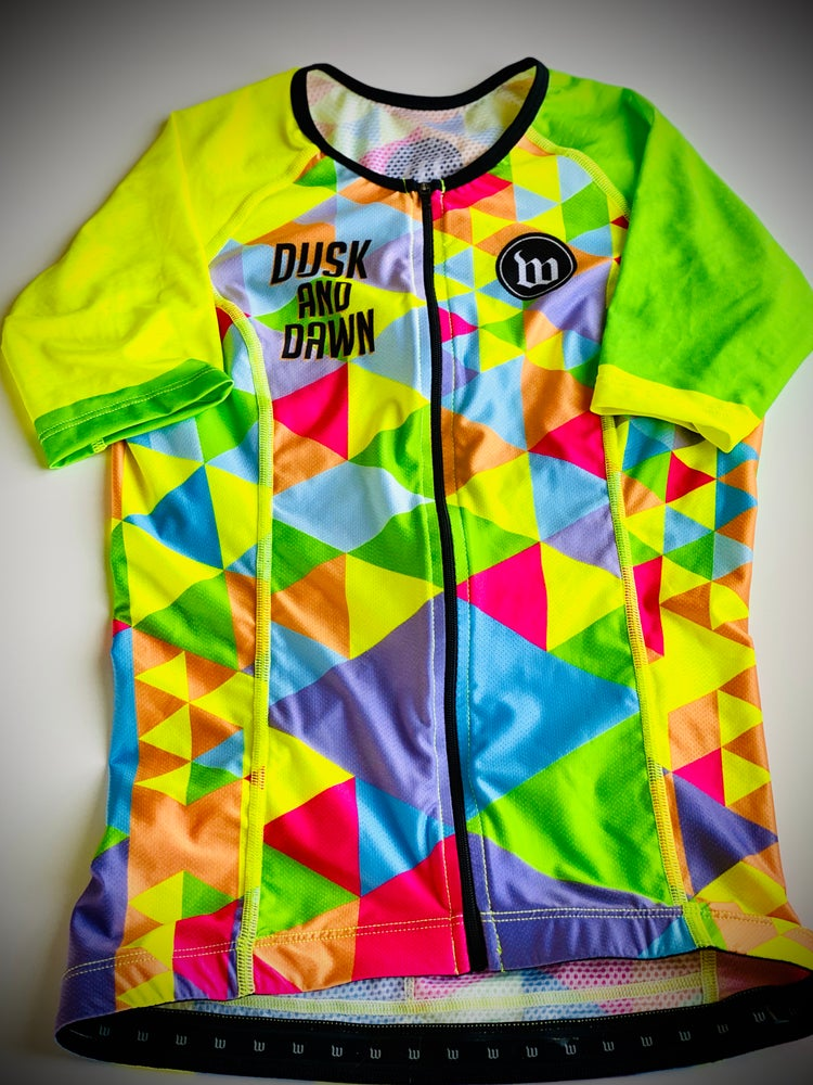 Image of Dusk and Dawn Men's Aero Tri-Jersey
