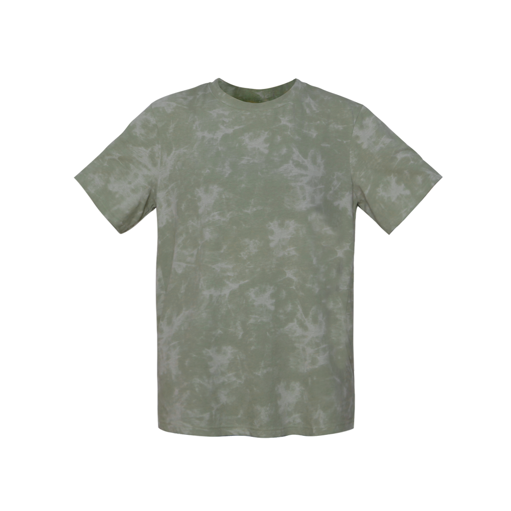 Image of GREEN TIEDYE TEESHIRT