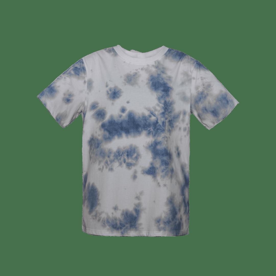 Image of BLUE GREY SMOG TEESHIRT